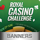 Casino Web Banner Package 01 - GraphicRiver Item for Sale