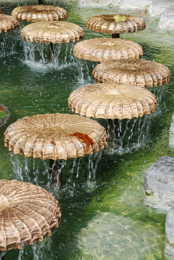 Munich fountain - Stock Photo - Images