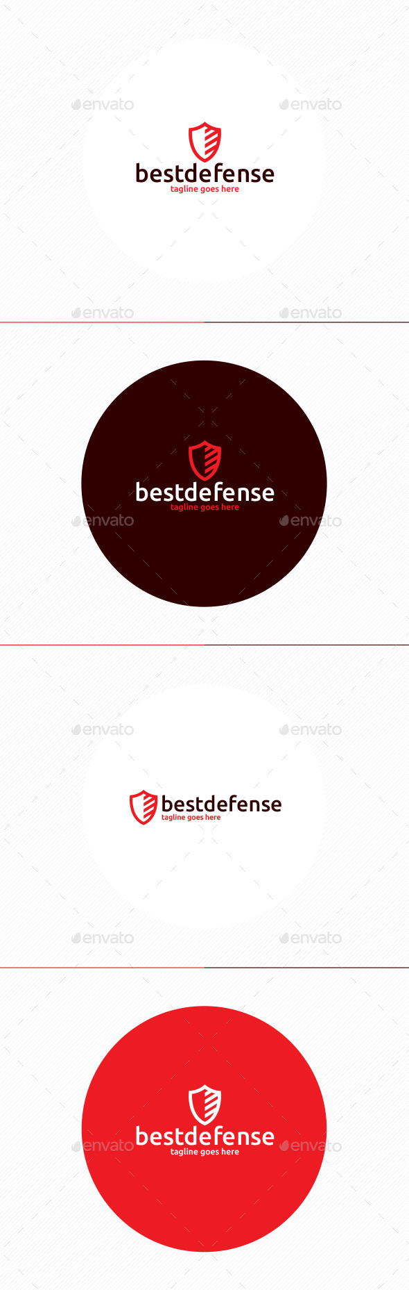 Best Defense Logo - Symbols Logo Templates