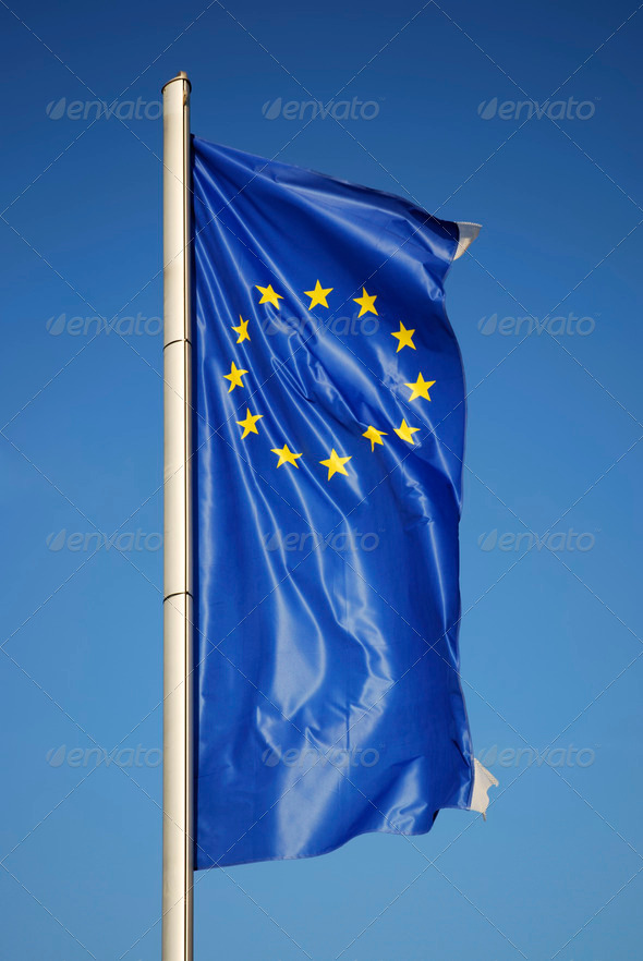European flag - Stock Photo - Images