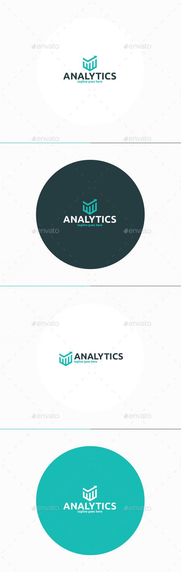 Analytics Logo - Vector Abstract