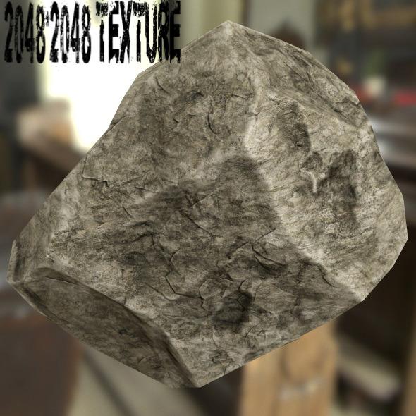 Rock_27 - 3DOcean Item for Sale