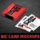 Square Business Card Mockups Vol. 2  - GraphicRiver Item for Sale