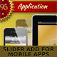 Christmas Slider Ads for Mobile Applications - GraphicRiver Item for Sale