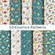Set of Ten Cosmos Patterns - GraphicRiver Item for Sale