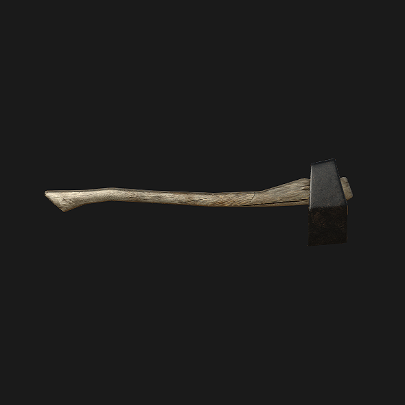 Basic Axe - 3DOcean Item for Sale