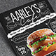 Asphalt Food Menu Flyer Template - GraphicRiver Item for Sale