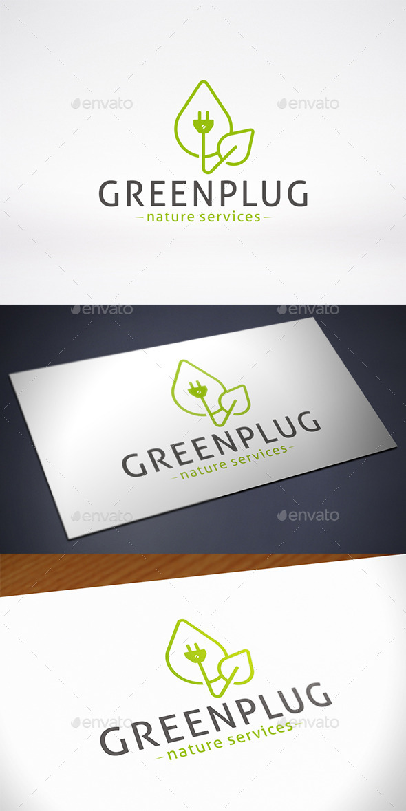 Natural Energy Logo Template - Nature Logo Templates