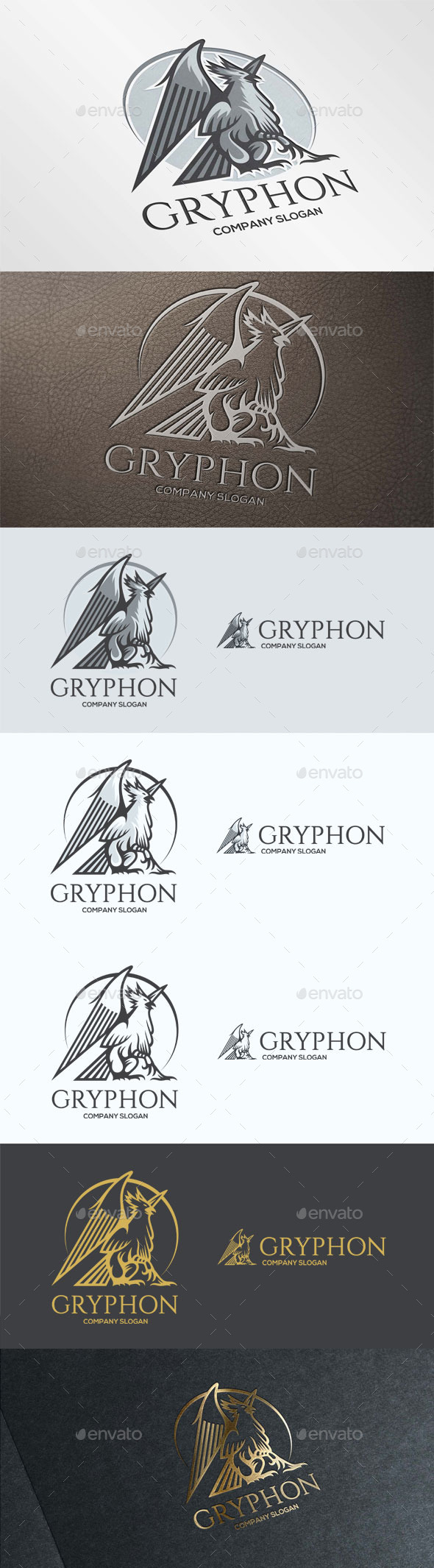 Gryphon Logo Template - Animals Logo Templates