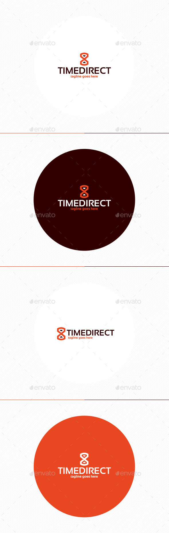 Time Direct Logo - Symbols Logo Templates