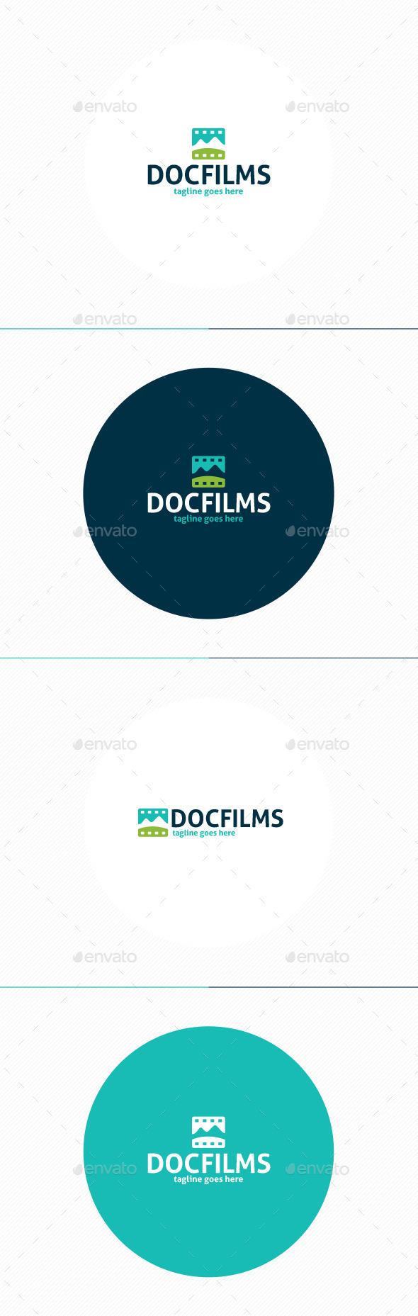 Doc Films Logo - Nature Logo Templates