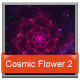 Abstract Cosmic Flower Backgrounds 2 - GraphicRiver Item for Sale