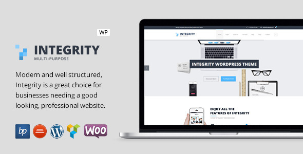 Integrity - Responsive Business WordPress Theme