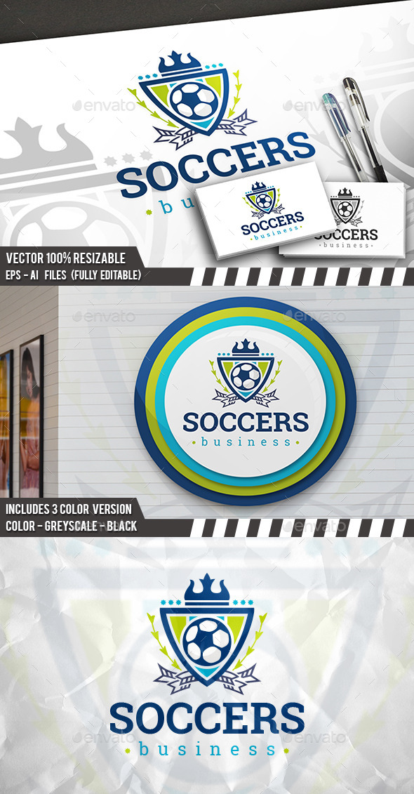Soccer Team Logo - Crests Logo Templates