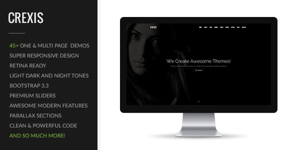 Crexis | Multi-Purpose One & Multi Page Theme