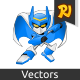 Terrabot Game Mascot - GraphicRiver Item for Sale
