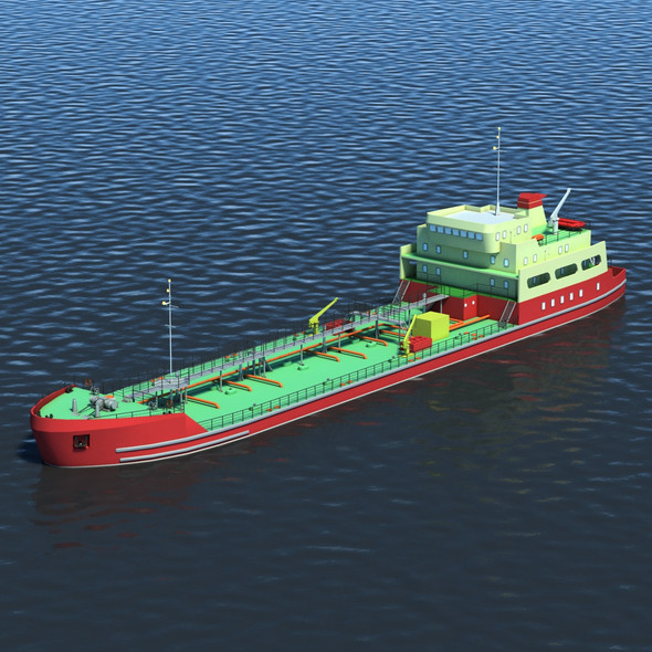 Tanker - 3DOcean Item for Sale