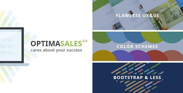 OptimaSales – Responsive HTML5/CSS3 Template