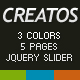 Creatos HTML Version - ThemeForest Item for Sale