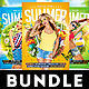 Summer Party Flyers Bundle - GraphicRiver Item for Sale