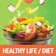 Healthy Life / Diet Flyers - GraphicRiver Item for Sale