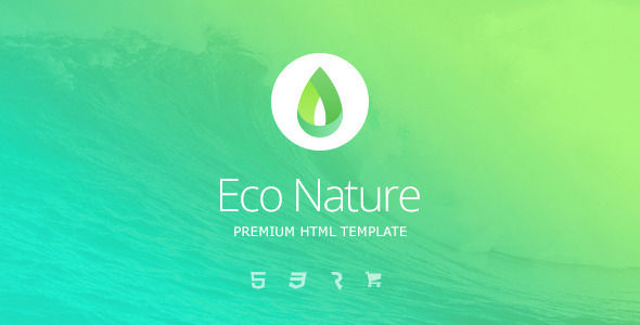 Image of Eco Nature - Environment & Ecology HTML5 Template