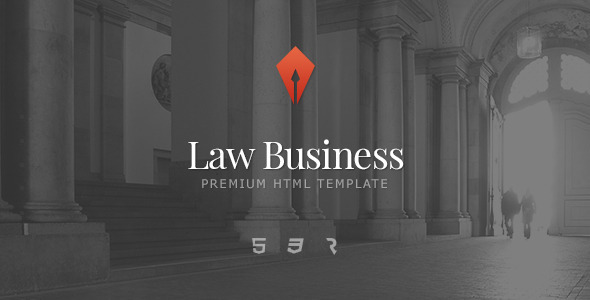 Law Business – Attorney & Lawyer HTML5 Template