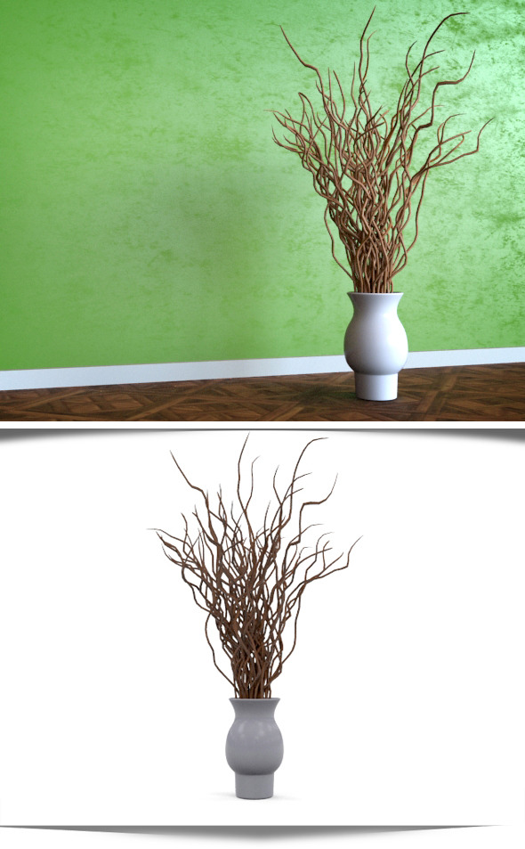 Tree Branch Decor - 3DOcean Item for Sale