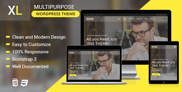 XL – Multipurpose LayersWP Child Theme