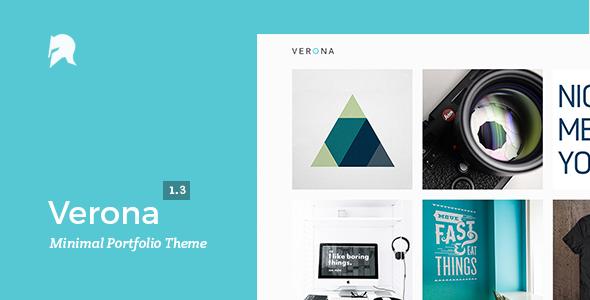 Verona – WordPress Portfolio Template