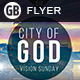 City of God | Flyer - GraphicRiver Item for Sale