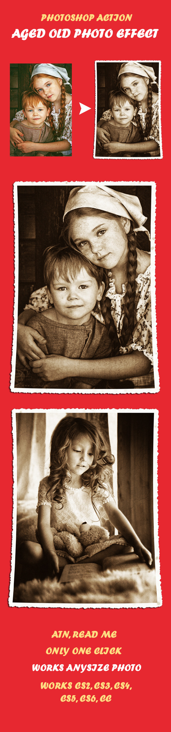 Old Photo Effect - Photo Effects Actions