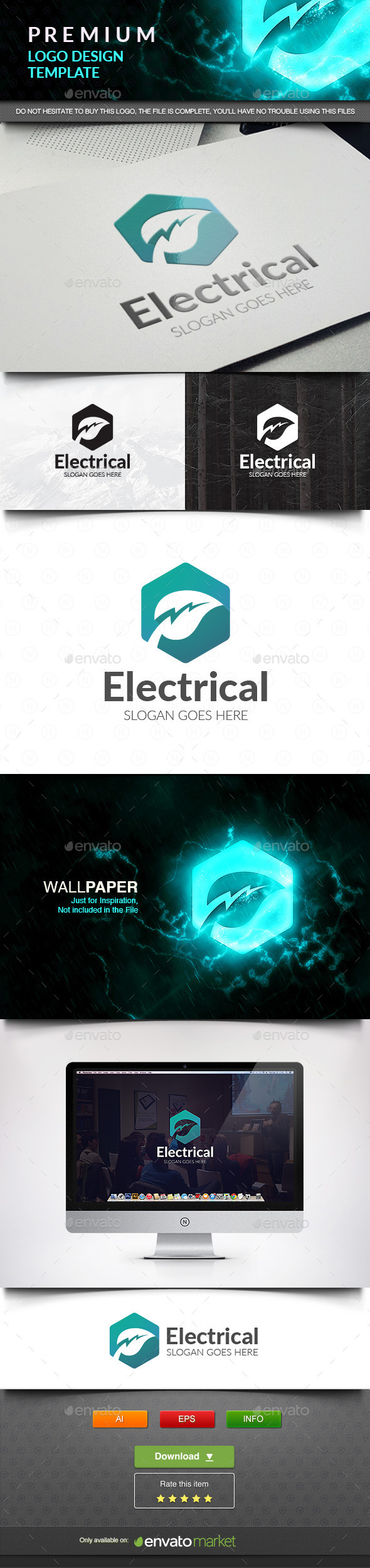 Electrical Green - Nature Logo Templates