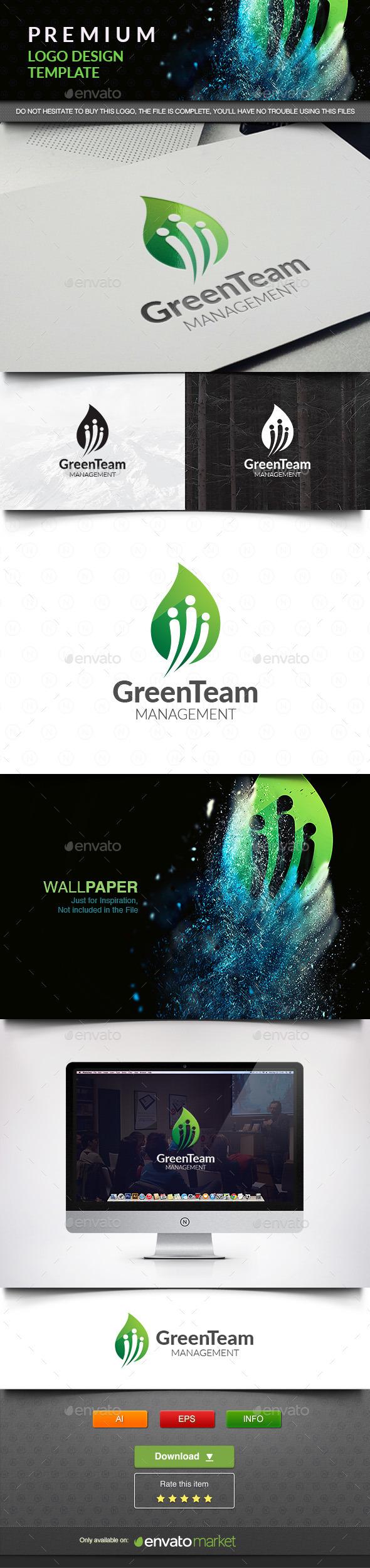 Green Team - Nature Logo Templates