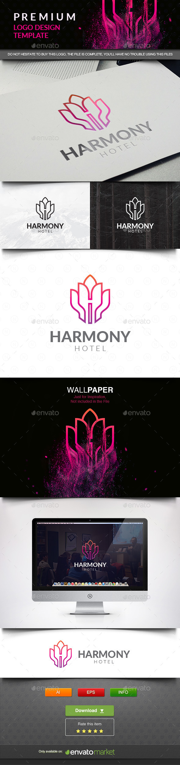 Harmony - Crests Logo Templates