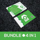 4 in 1 Creative Business Card Bundle  - GraphicRiver Item for Sale