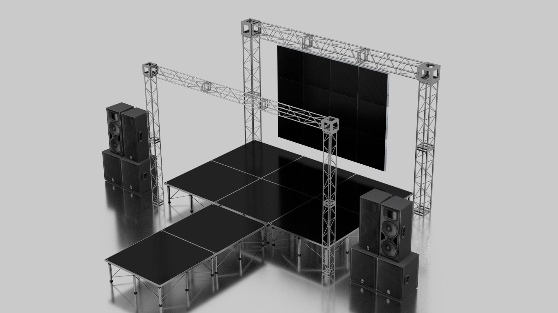Stage Set Design Module By Holution 3docean