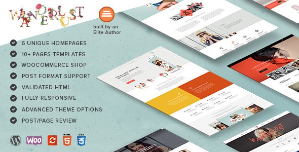 Wanderlust – Multi-Purpose WordPress Shop Theme
