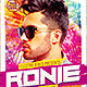Electro House Artist Flyer vol 3. - GraphicRiver Item for Sale