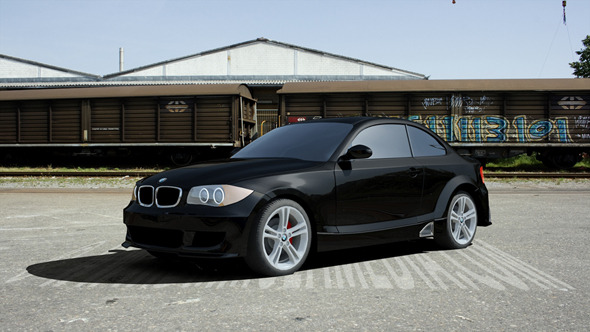 BMW 1 series - 3DOcean Item for Sale