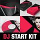4 Dj Start Kit Photoshop Templates - GraphicRiver Item for Sale