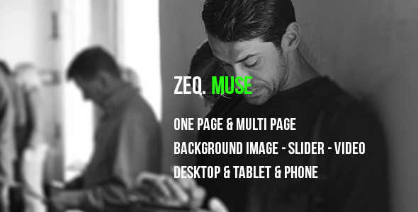 ZEQ – Muse Template
