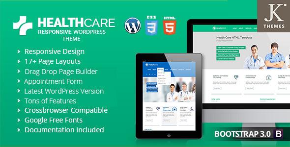 Health Care – Responsive  Health WordPress Theme