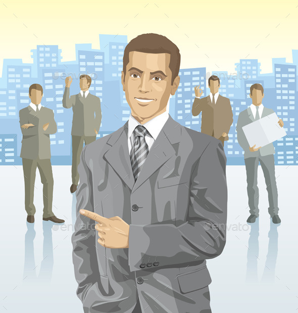 Businessmen - People Characters