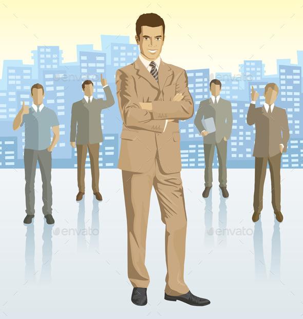 Businessmen - People Characters