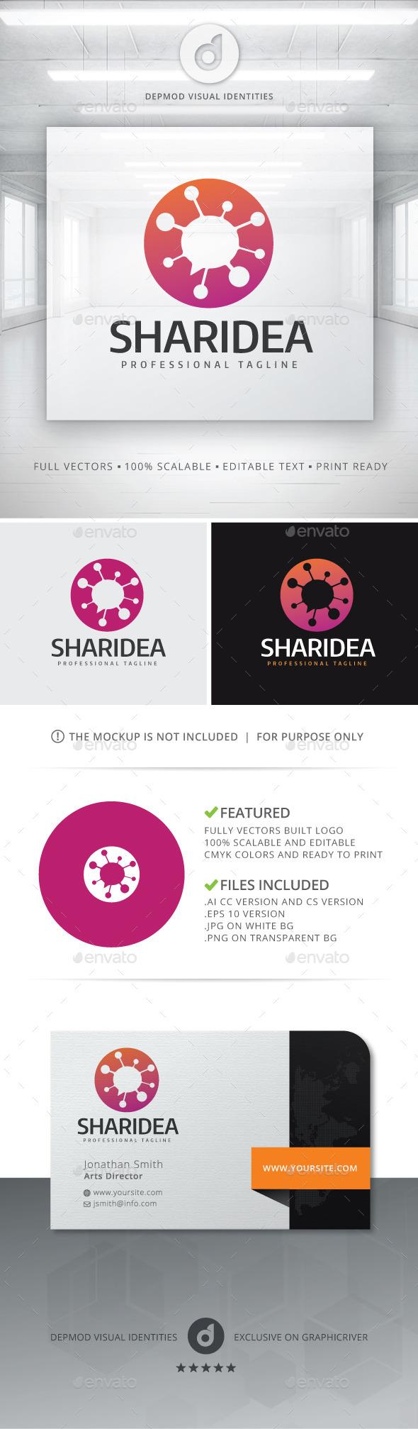 Sharidea Logo - Symbols Logo Templates