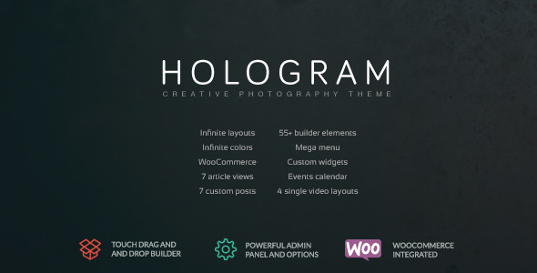 Hologram – Creative Photography Theme