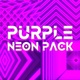Purple Neon Background Pack - VideoHive Item for Sale