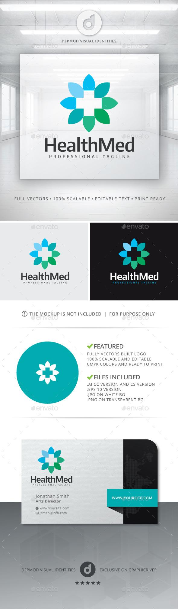 Health Med Logo - Symbols Logo Templates