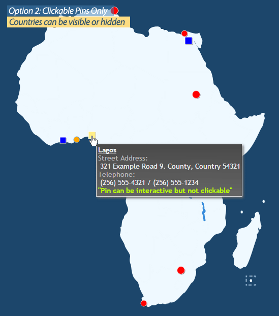 Worksheet. Interactive Map of Africa by Art101  CodeCanyon